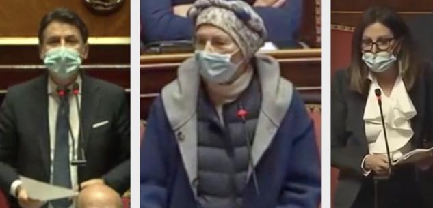 La Guida - Conte al Senato: Bonino e Santanché non danno la fiducia