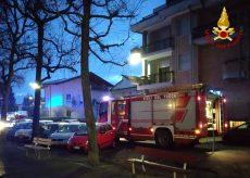 La Guida - Incendio in un alloggio, intervento dei Vigili del fuoco