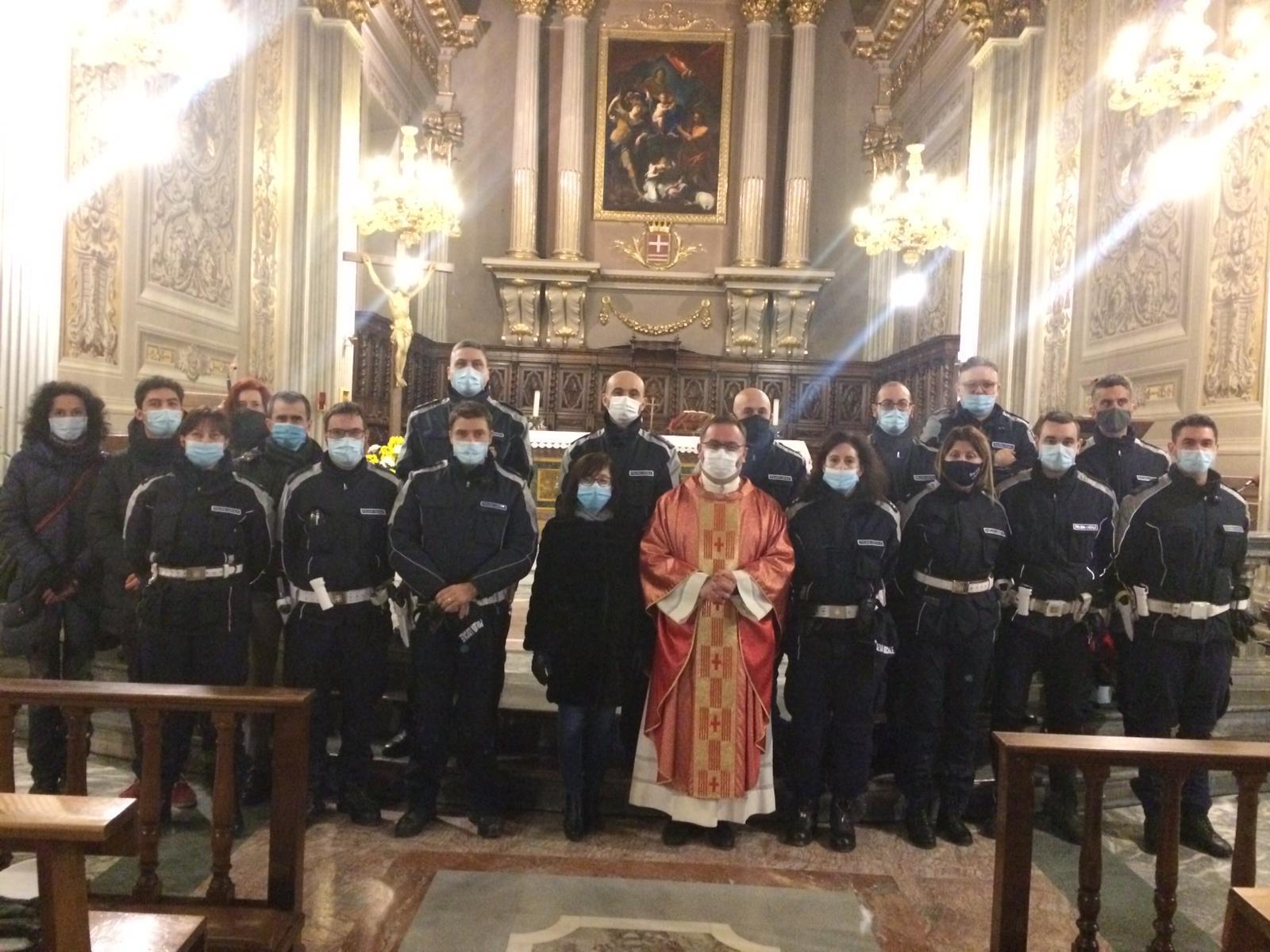 Messa per San Sebastiano, patrono della Polizia locale
