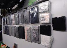 La Guida - Fermato in auto con 23 chili di cocaina, arrestato