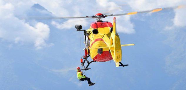 La Guida - Valanga sulla Bisalta, il Soccorso alpino recupera scialpinista ferito