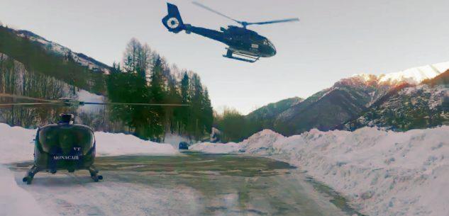 La Guida - Avviati i primi voli in elicottero Monaco-Limone