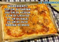 La Guida - Videoricetta pizza a lunga lievitazione