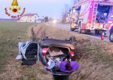 La Guida - Donna ferita in un incidente stradale tra Saluzzo e Scarnafigi