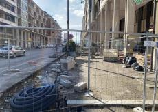 La Guida - I lavori della pista ciclabile di corso Nizza fermi da due mesi