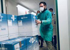 La Guida - Arrivate in Piemonte 17.800 dosi di AstraZeneca