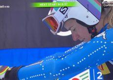 La Guida - Super G a Cortina, Marta Bassino scende in 1′ 26″ 70 e chiude 11ª