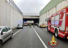 La Guida - Tangenziale di Beinette, incidente tra cinque auto
