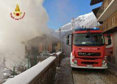 La Guida - Incendio in un'abitazione nel centro di Valdieri