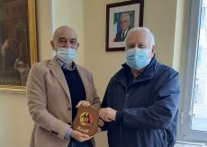 La Guida - Targa della Protezione Civile al Santa Croce di Cuneo