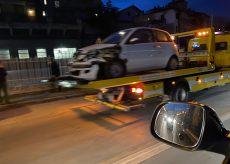 La Guida - Code in discesa Marconi per un incidente stradale