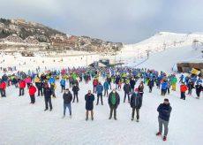 La Guida - Flash mob del mondo della neve a Prato Nevoso e Artesina