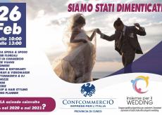 La Guida - Cuneo, il comparto dei matrimoni oggi scende in piazza