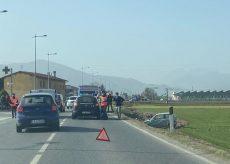 La Guida - Tre auto coinvolte in un incidente a San Defendente di Cervasca