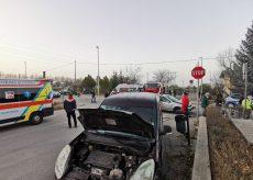 La Guida - Incidente in via Auriate a San Rocco Castagnaretta