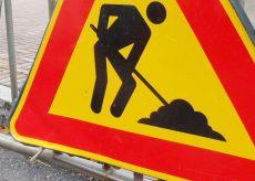 La Guida - Tra Bernezzo e San Rocco senso unico per asfaltature