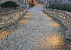 La Guida - Nuova illuminazione per il borgo medioevale di Costigliole Saluzzo