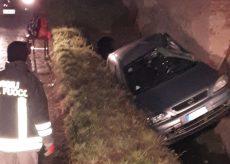 La Guida - Un'auto con due donne finisce in un fossato, illese