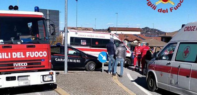 La Guida - Incidente tra due autovetture a Villanova Mondovì