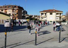 La Guida - Manifestazione a Roccavione per il ritorno a scuola