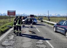 La Guida - Scontro frontale tra due auto