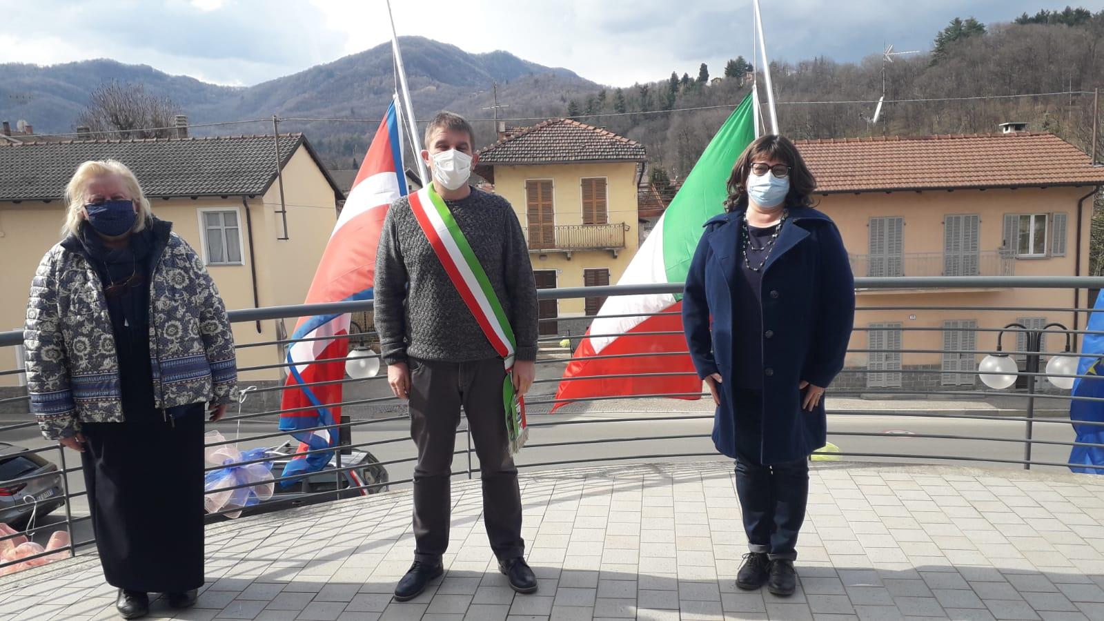 Cervasca - Commemorazione Covid- Amministratori