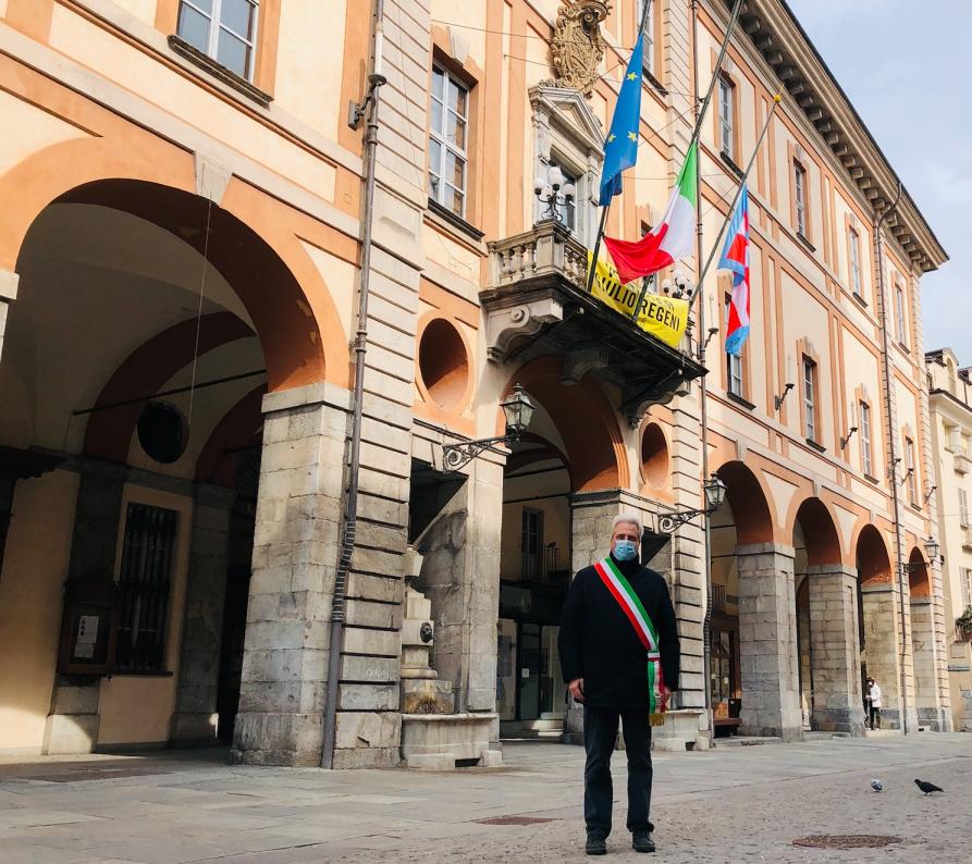 Cuneo - Giornata nazionale in ricordo delle vittime del Covid