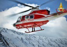 La Guida - Esercitazione dei Vigili del fuoco sulle nevi di Limonetto