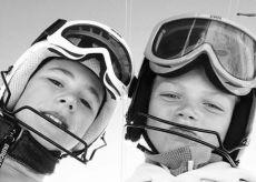 La Guida - Fabio Allasina e Filippo Bernardi, giovani campioni nazionali di sci