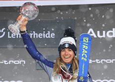 La Guida - Marta Bassino festeggia anche il titolo tricolore