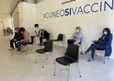 La Guida - In Piemonte somministrate altre 26.575 dosi di vaccino