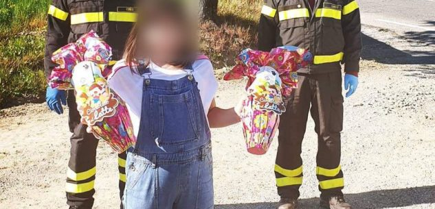La Guida - A Dogliani l'uovo di Pasqua lo portano i pompieri