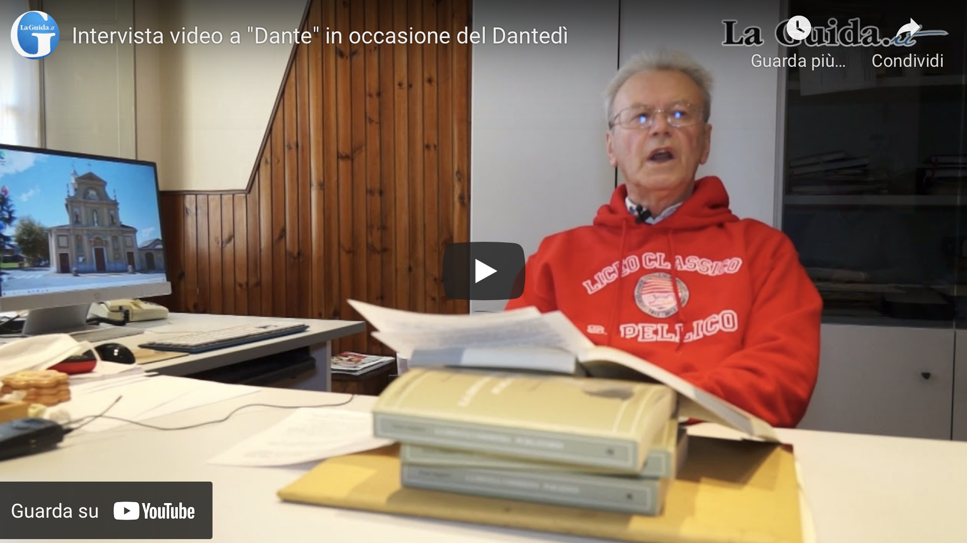 Video intervista a Dante