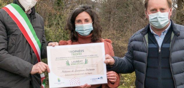 La Guida - Premiata Stefania Larovere di Rossana per la lavorazione manuale del legno