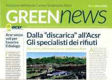"""La Guida - """"Green News"""", il notiziario dell'Acsr"""