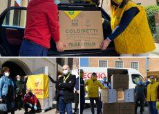 La Guida - Coldiretti Piemonte in aiuto delle famiglie bisognose