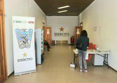 La Guida - Iniziate la vaccinazioni alla Caserma Vian di San Rocco Castagnaretta