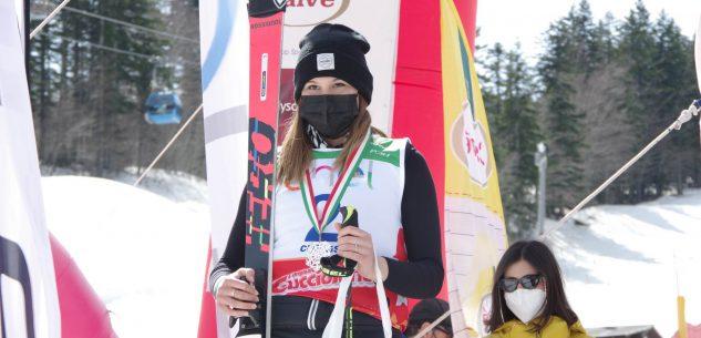 La Guida - Sofia Mattio al secondo posto nel Pinocchio sugli sci internazionale