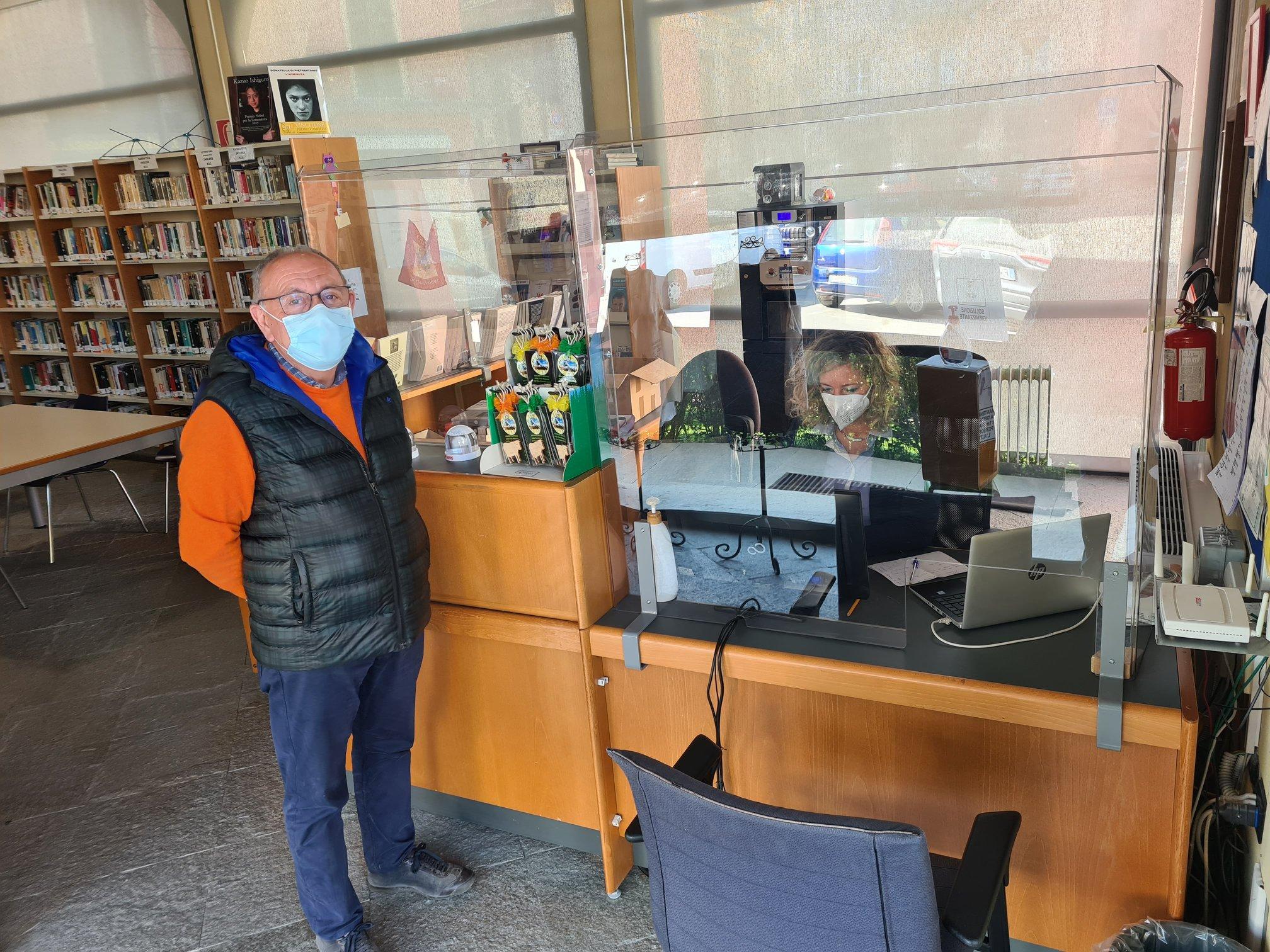 Servizio prenotazioni vaccino biblioteca Carrù