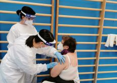 La Guida - Settanta vaccinazioni nella palestra di Roccavione
