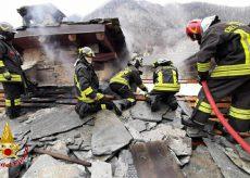 La Guida - Incendio in borgata Villaro di Acceglio
