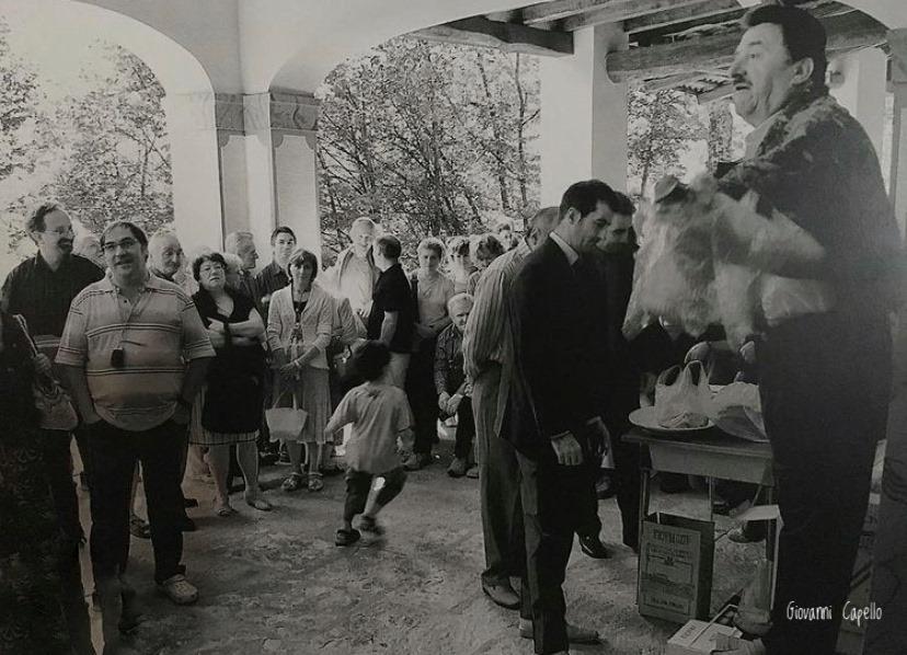 Frassino - incanto al santuario di Madonna degli Angeli