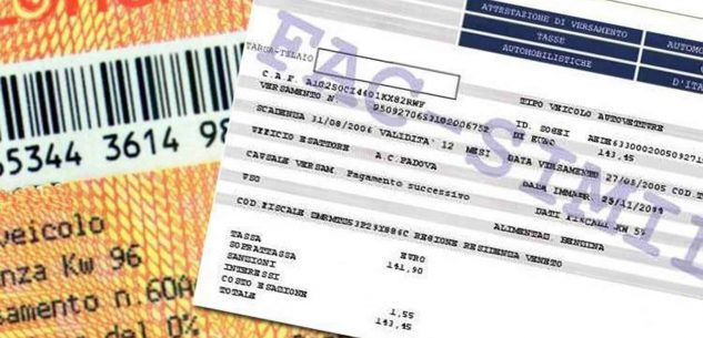 La Guida - Slitta al 31 luglio il pagamento del bollo auto
