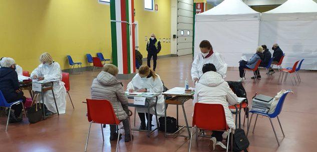 La Guida - Vaccino, Centallo supera quota 1.000 prime dosi
