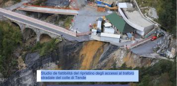 La Guida - Lo studio di fattibilità del ripristino degli accessi al traforo stradale del colle di Tenda
