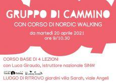 """La Guida - Nordic walking con il """"Gruppo di cammino"""""""