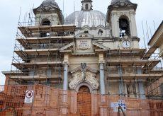 La Guida - Lavori al santuario Regina Pacis di Fontanelle