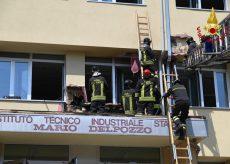 La Guida - Domato il rogo all'Itis di Cuneo, nessuna persona ferita (video)