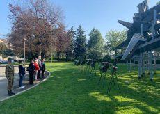 La Guida - Cuneo, l'omaggio delle istituzioni ai luoghi della Liberazione