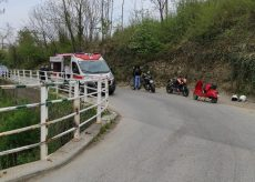 La Guida - Busca, incidente tra due motocicli su un ponte